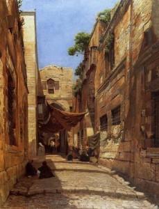 Старый город в столице Царства