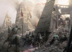 Штурм городских стен