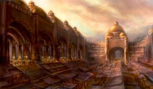 Каменный базар, столица Царства